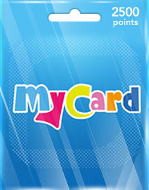 mycard 2,500 points tw
