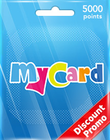 mycard 5,000 points tw discount promo