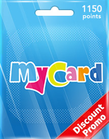 mycard 1,150 points tw discount promo