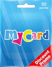 mycard 50 points tw discount promo