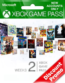 xbox game pass 2 weeks trial global discount promo