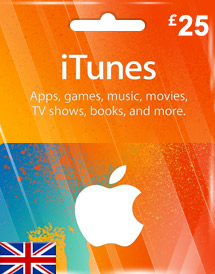 itunes gbp25 gift card uk